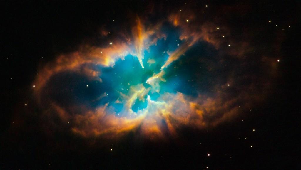 La nébuleuse du Crabe, par Hubble