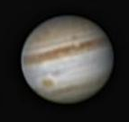 Jupiter au télescope 150/750