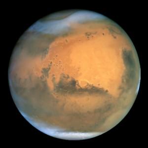 Mars, par Hubble
