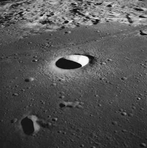 Cratère lunaire
