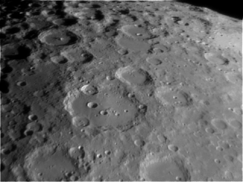 La lune vue au télescope 130/900