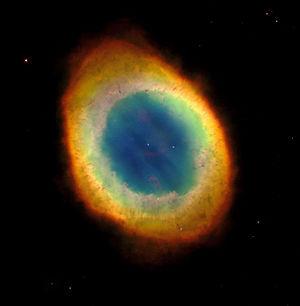 M57, la nébuleuse de la Lyre