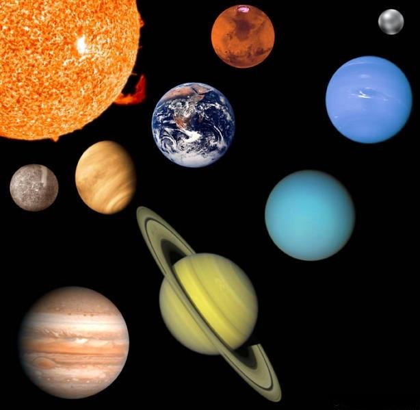 Le système solaire et ses planètes