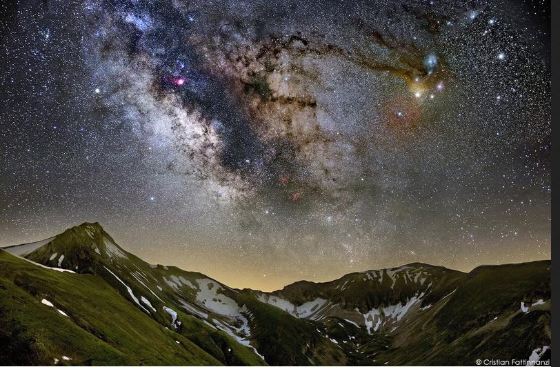 minitrack LX3 Milky Way